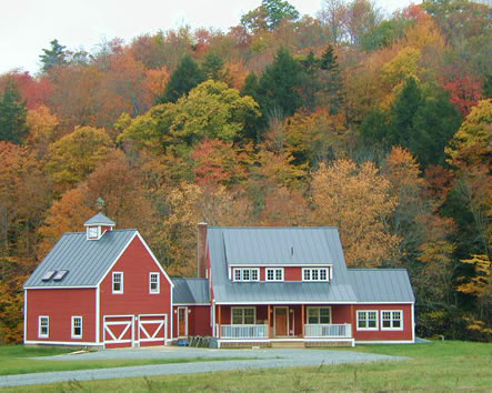 Dave dutton construction custom timber frame vermont home for Building a house in vermont